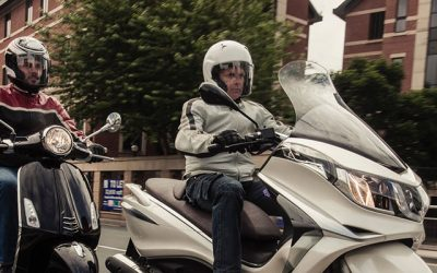 Driving lessons for scooter licence